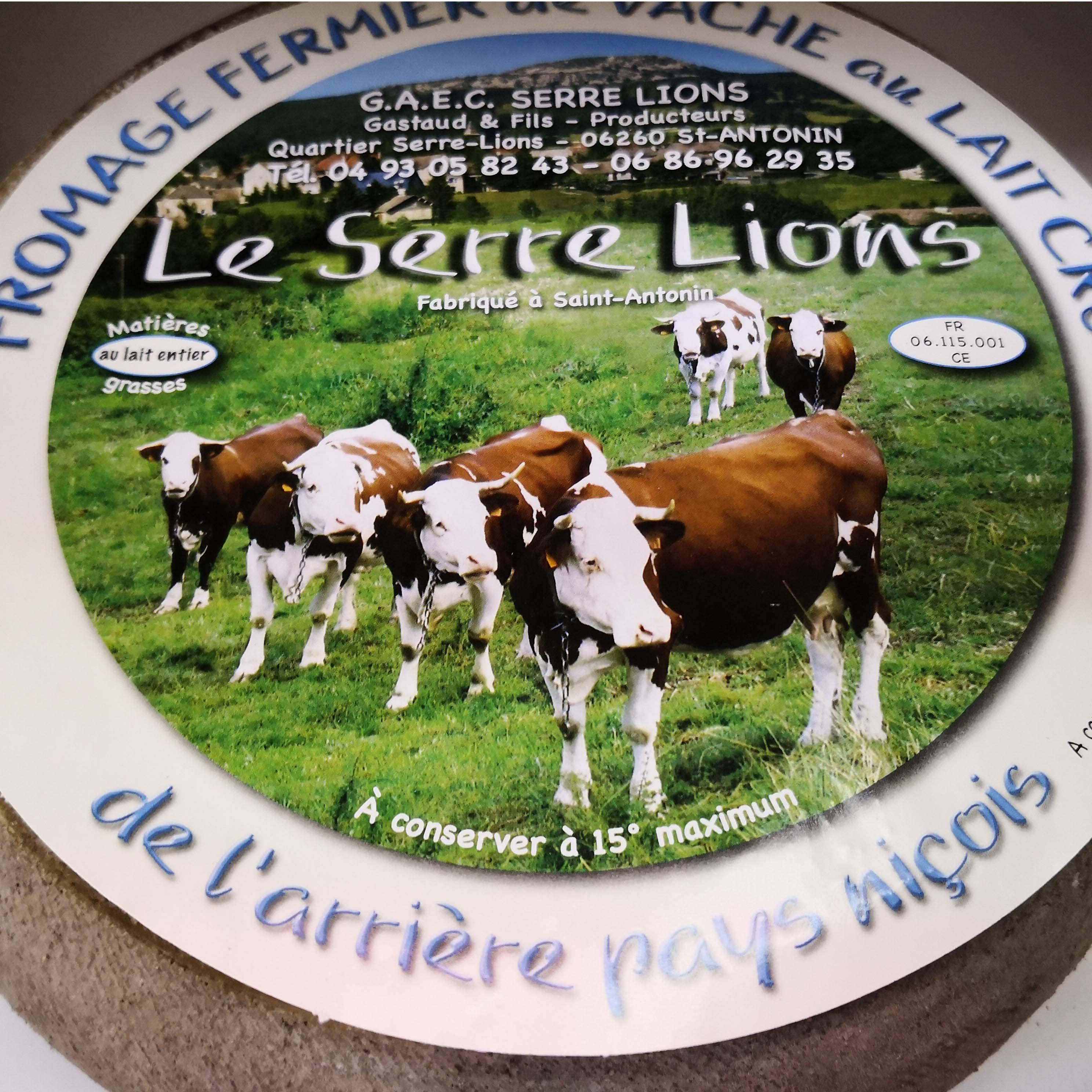 formage lait de vache